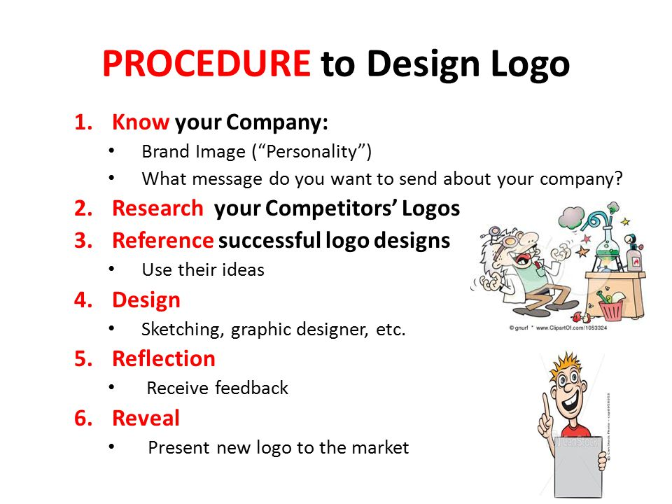 PROCEDURE to Design Logo