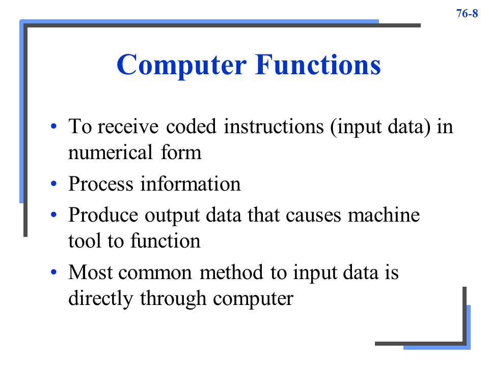Computer Numerical Control - ppt download