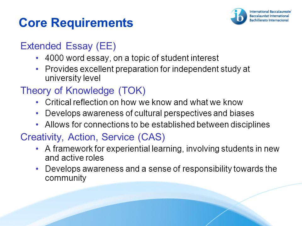 extended essay headers Economics extended essay the extended essay (ee) is an independent, self-directed piece of research headers and footers abstract (separate 300-word section.