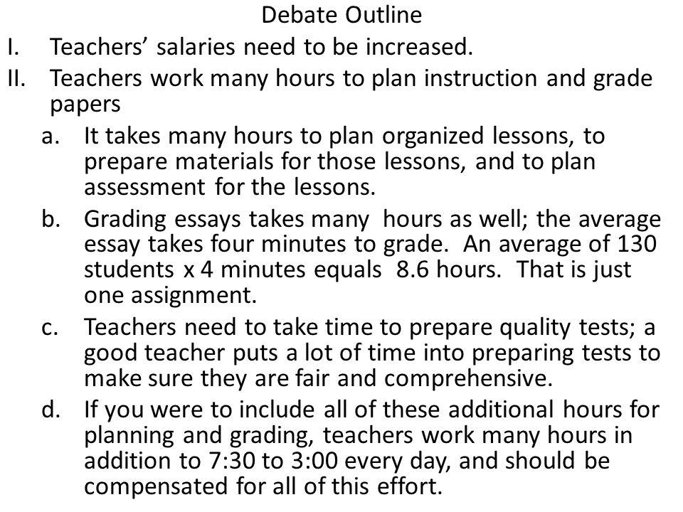 debate essay example
