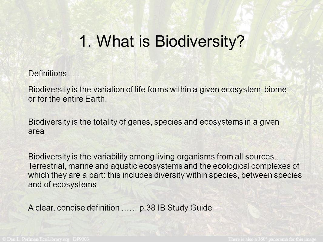 Quiz & Worksheet - Characteristics of Biodiversity | Study.com