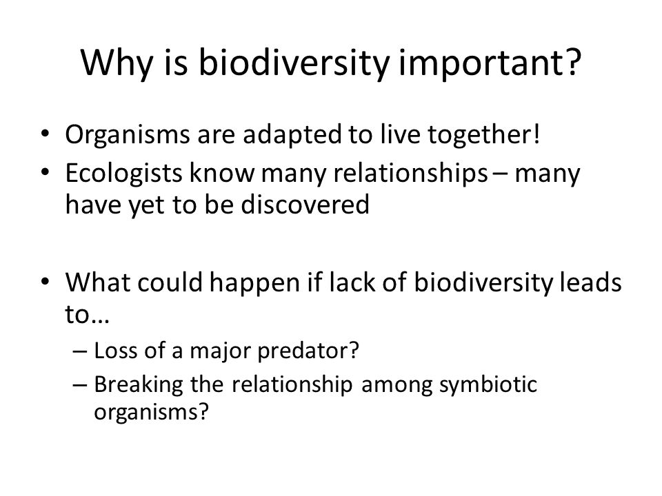 loss of biodiversity and extinction of plants animals and other liivng things The biodiversity of an area is literally the number of species, both plant and animal, inhabiting the environment being examined  biodiversity and extinction.