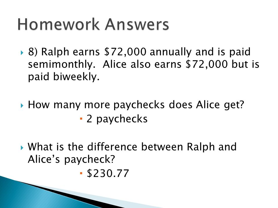 semi monthly paychecks