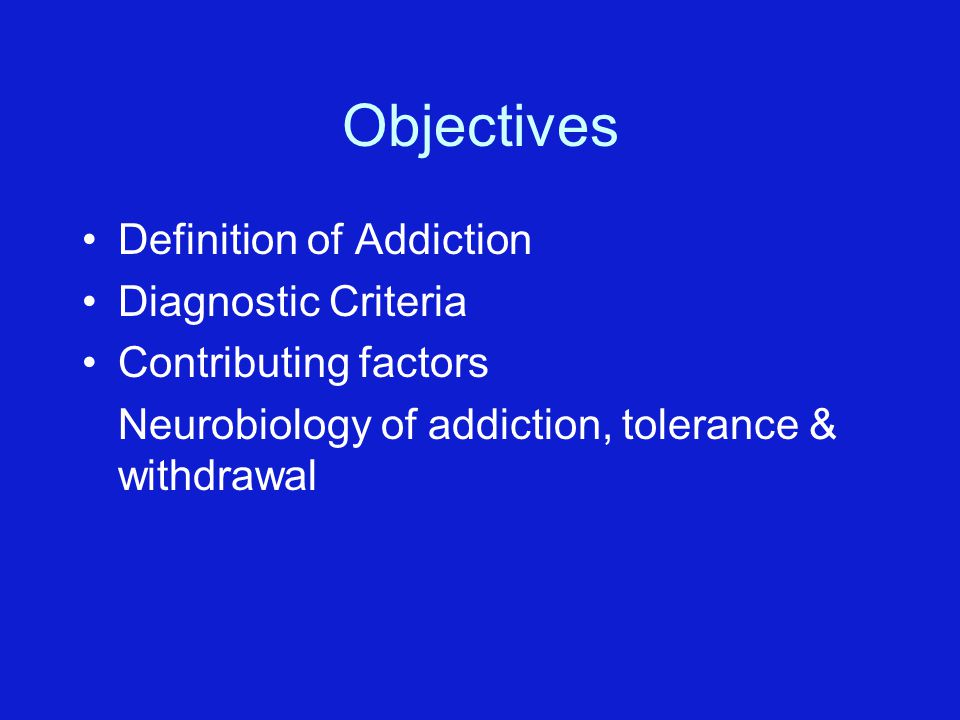 A description of alcoholism as a disorder characterized by a pathological pattern
