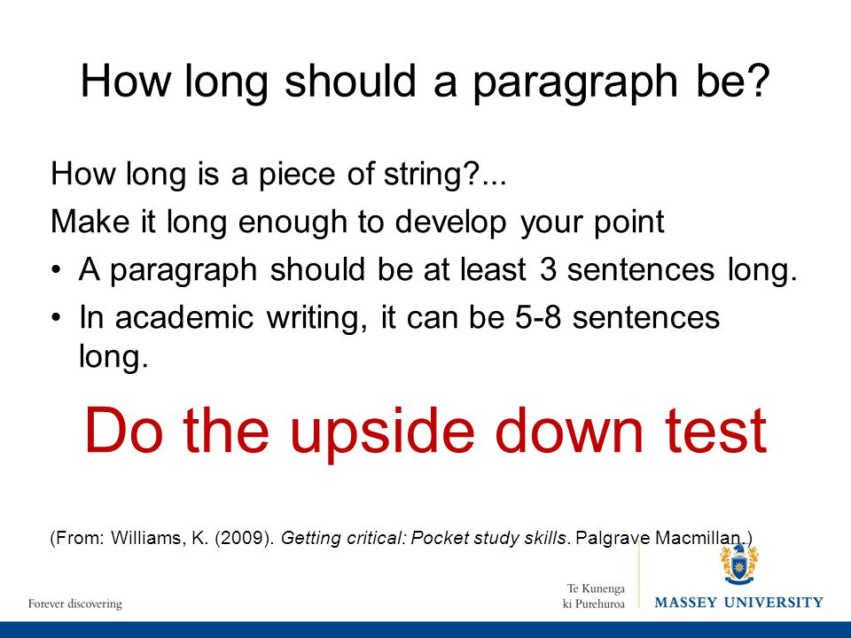 how many paragraphs is a essay