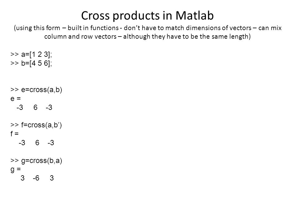 how to get dimensions of a matrix in matlab