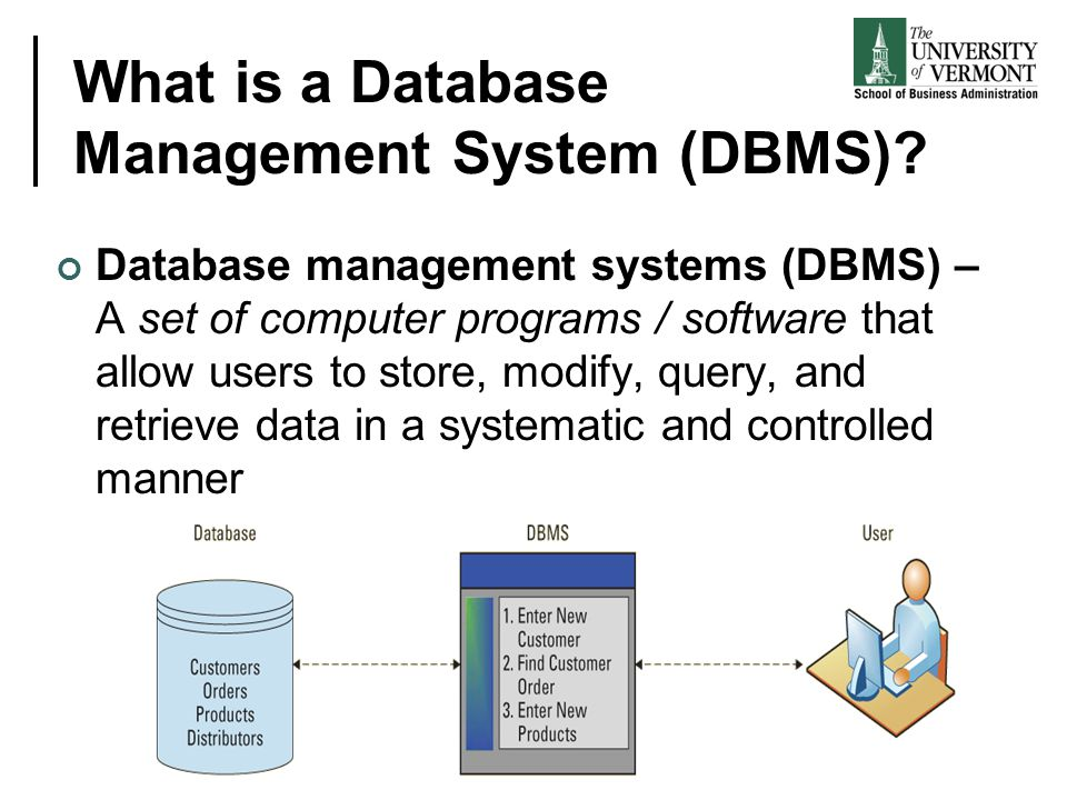 What is a Database Management System (DBMS)