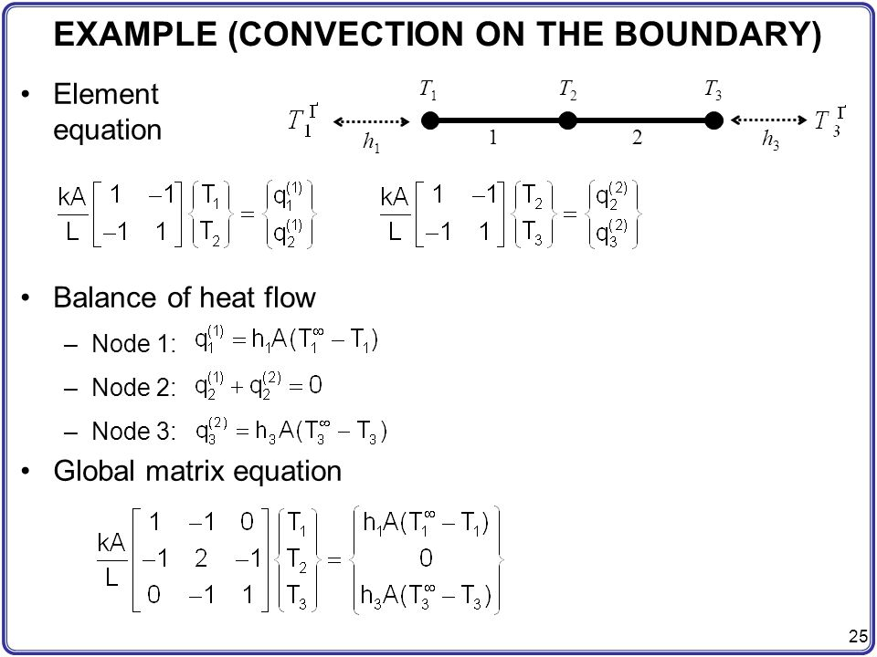 EXAMPLE (CONVECTION ON THE BOUNDARY)