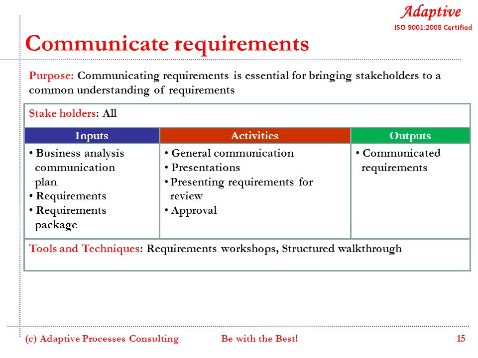 how to communicate change to stakeholders
