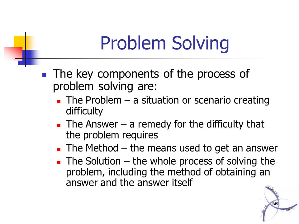 creative problem solving scenario The purpose of this study is to examine what the prospective mathematics teachers who participated in creative problem solving training have learned during the process and to get their opinions at.
