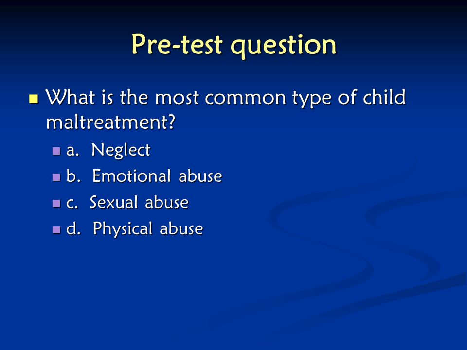 Intimate Partner Violence, Child Abuse, and Their Overlap - ppt ...