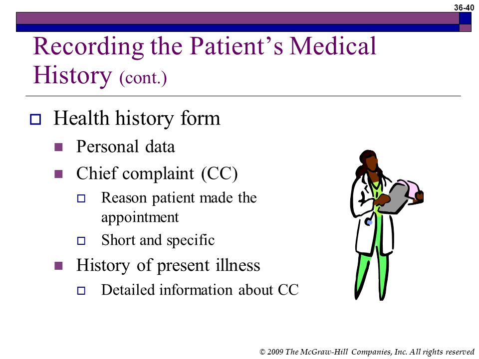 recording data about a patient s health Scientific american is  nurses and patients are unaware that the information they record or divulge in an electronic health record or the results from lab tests they request or consent to may.