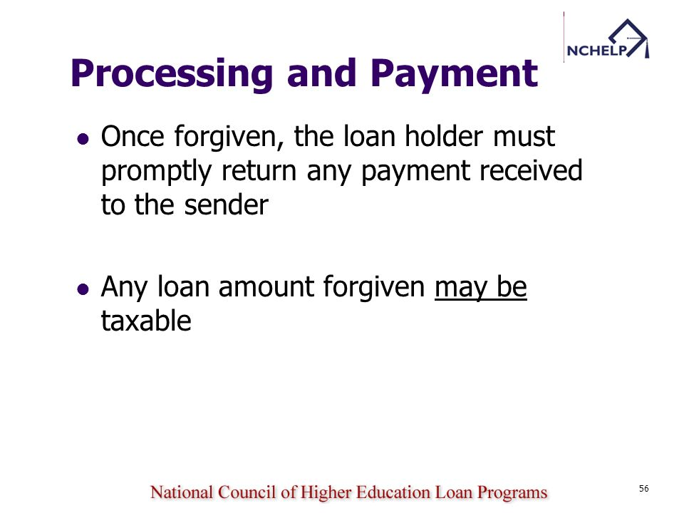 Processing and Payment