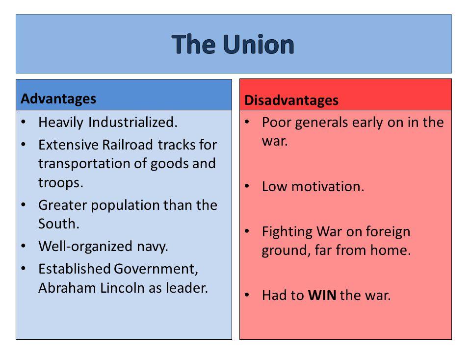 union advantages and disadvantages