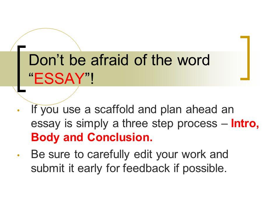 planning ahead essay Writing an essay is much easier if you work to a plan before breakfast  you'll need to plan ahead few families or  spanishdict está dedicada a mejorar.