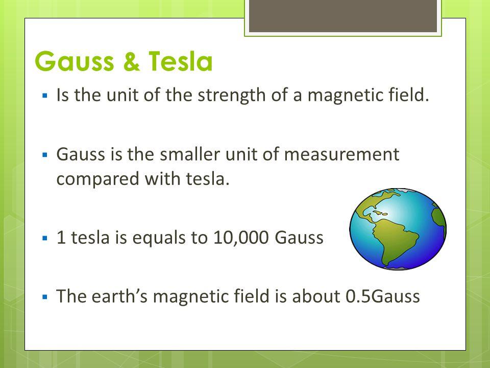 Gauss To Tesla Conversion Tesla Image