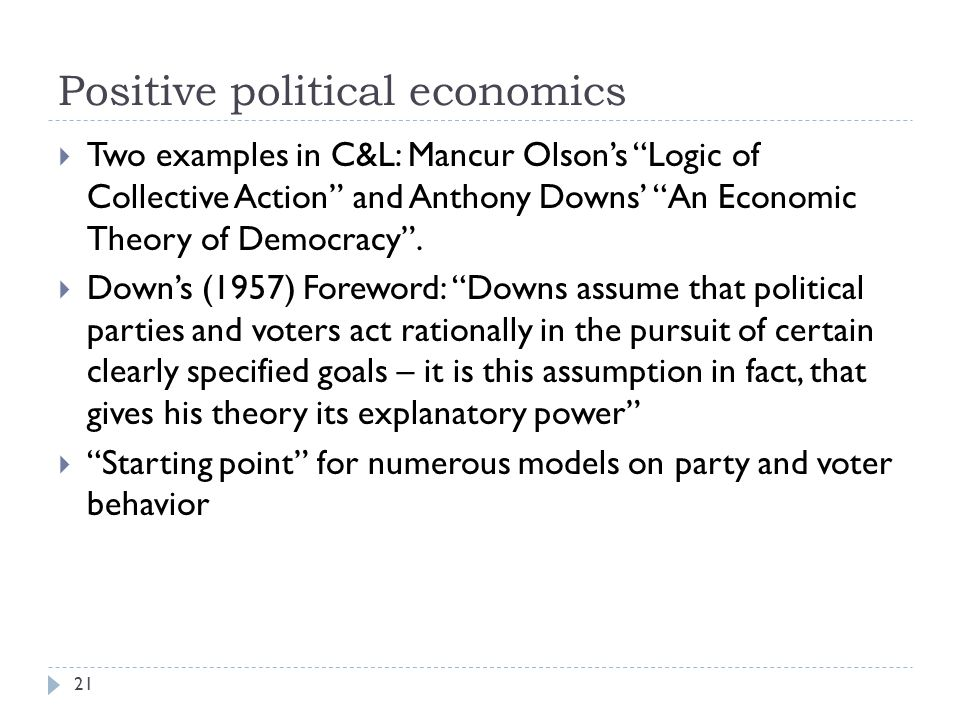 """analysis of mancur olsons economic theory Economic geography  foreign policy analysis: classic and contemporary theory  ist politik gegen verbände möglich 25 jahre mancur olsons """"the rise and."""