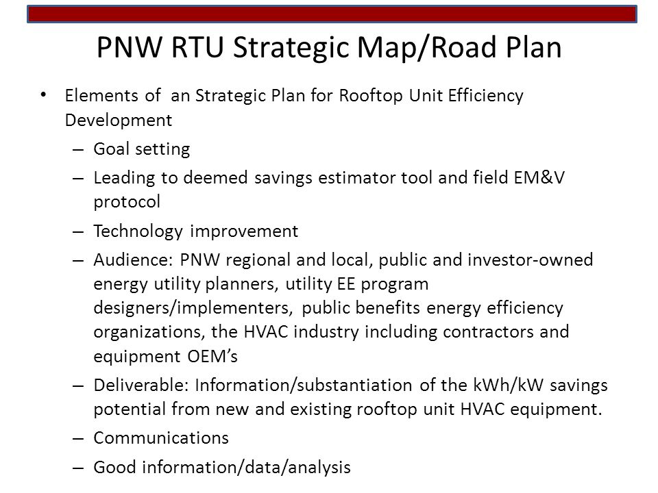 Pnw Rooftop Unit Working Group - Rtug – Rooftop Unit Research
