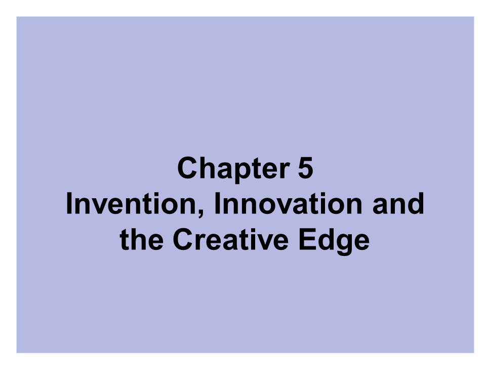 chapter 5 creating worldwide innovation and Brand new: solving the innovation paradox—how • chapter 1—the innovation paradox • chapter 2—creating an and innovation conferences worldwide.