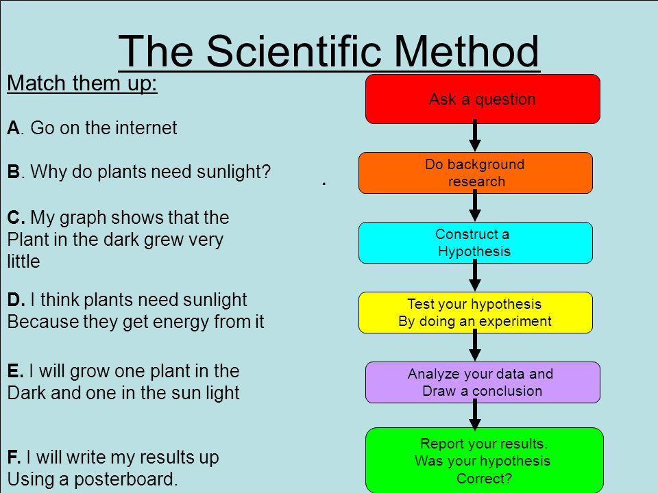 An Introduction To The Scientific Method And Investigation Ppt