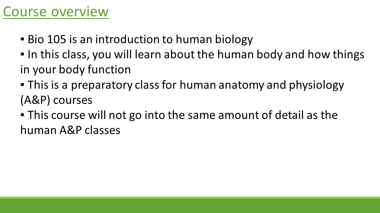 Introduction to Human Biology - ppt video online download