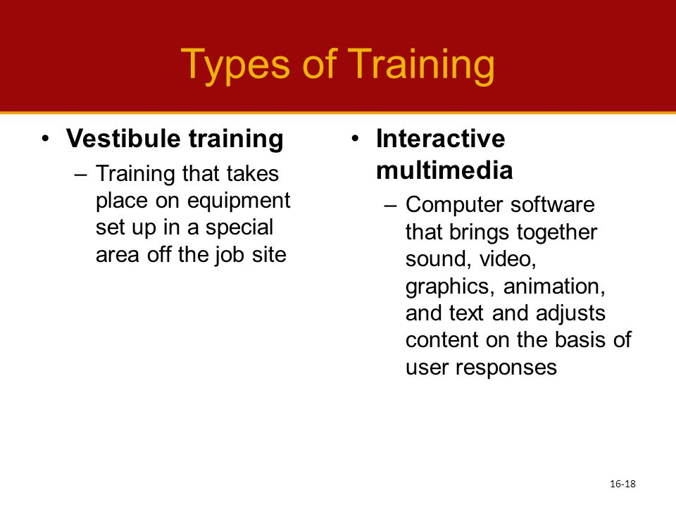 Types of Management Training for Employees