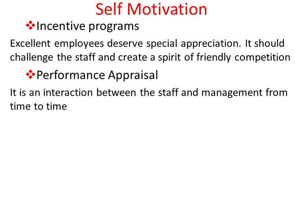 reward management motivation and performance appraisal The implementation of the performance appraisal reward process is to create a new performance culture which places greater emphasis on the importance of the motivation, development and optimal utilization of human resources, towards the achievement of a client focused and results oriented service all government employees are encouraged to work to achieve the criteria for receiving recognition.