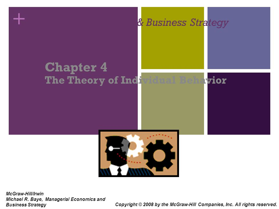 Managerial Economics (Chapter 4)