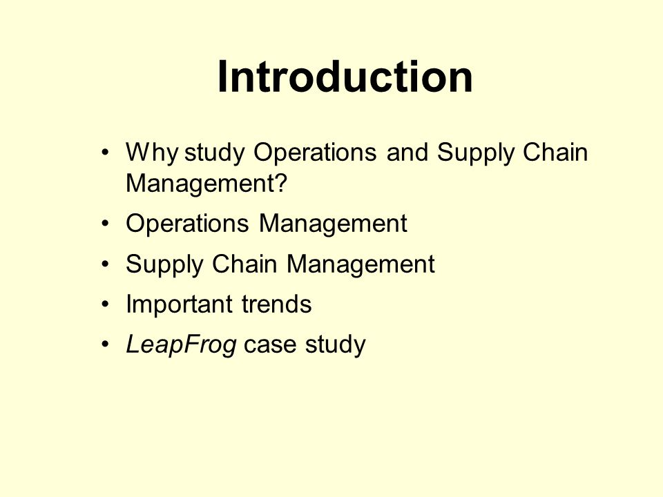 Most Downloaded Journal of Operations Management Articles