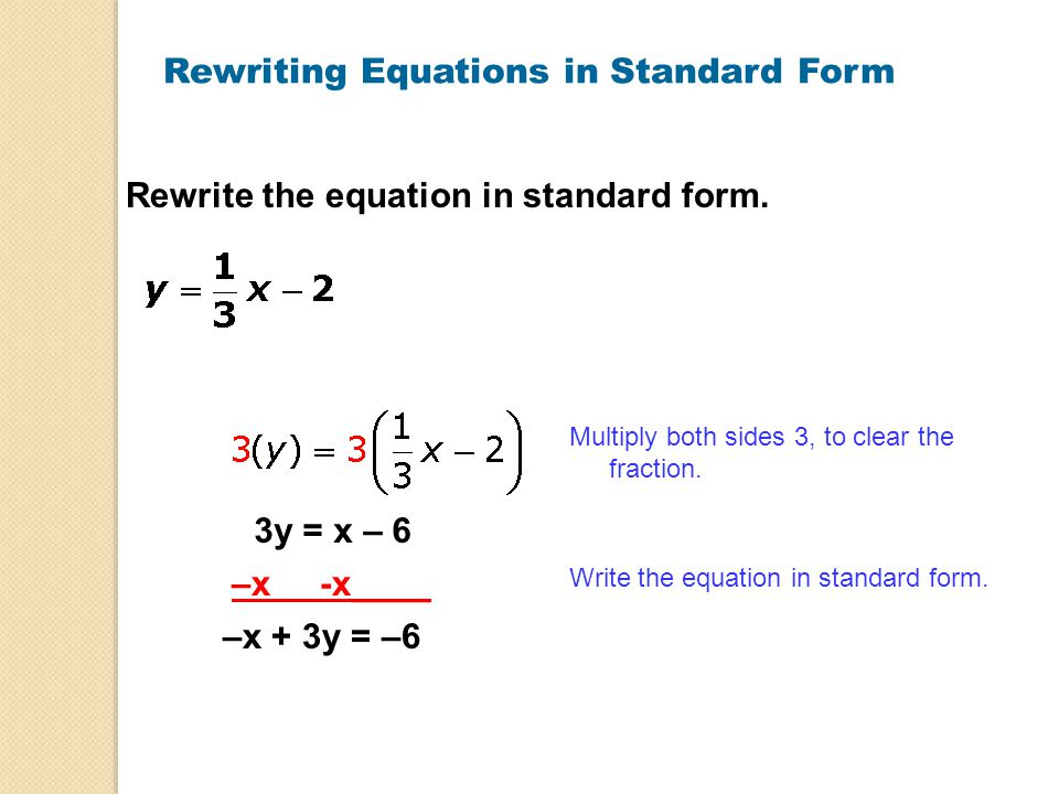 Write Equation In Standard Form Term Paper Help Ttcourseworkehqf
