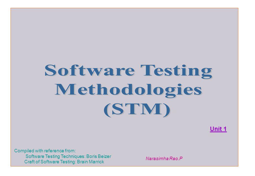 Software Testing Methodologies (STM) - ppt download