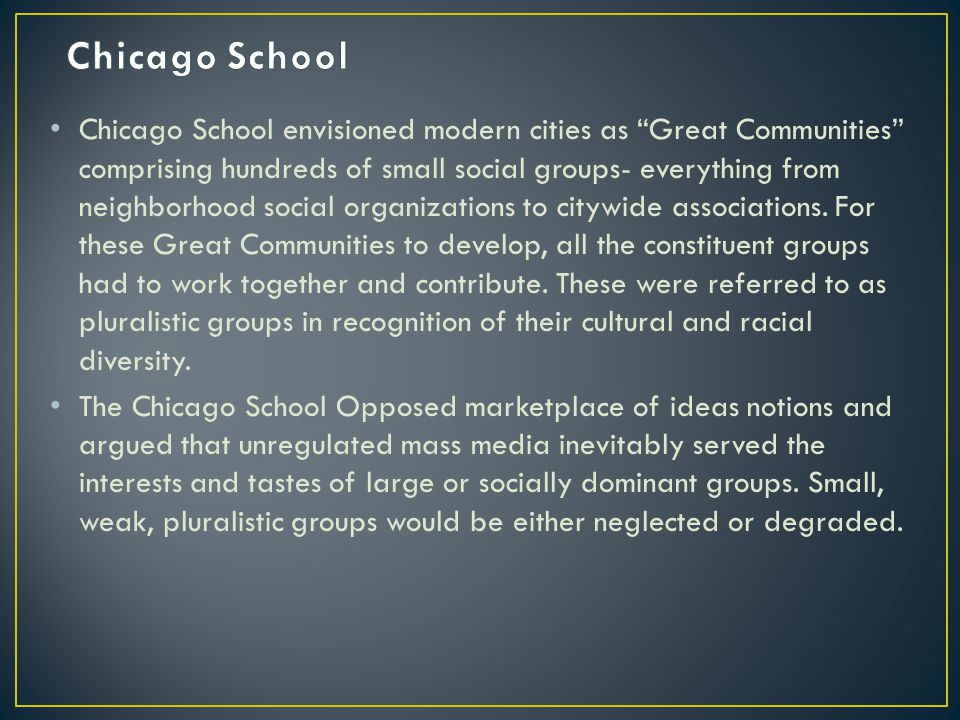 Chicago School