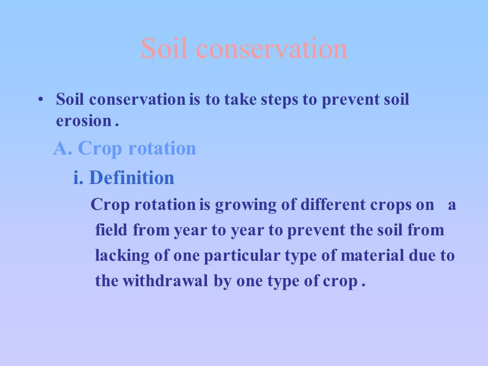 Intensive agriculture ppt video online download for What is meant by soil
