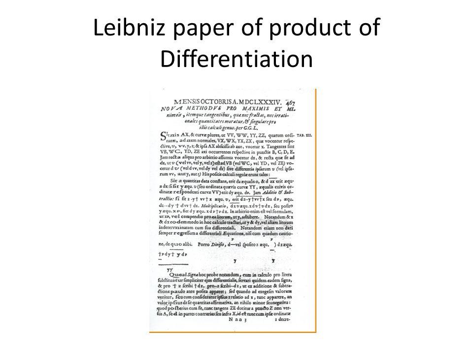 leibniz essay Amazoncom: leibniz: new essays on human understanding (cambridge texts in the history of philosophy) (9780521576604): g w leibniz, peter remnant, jonathan bennett: books.