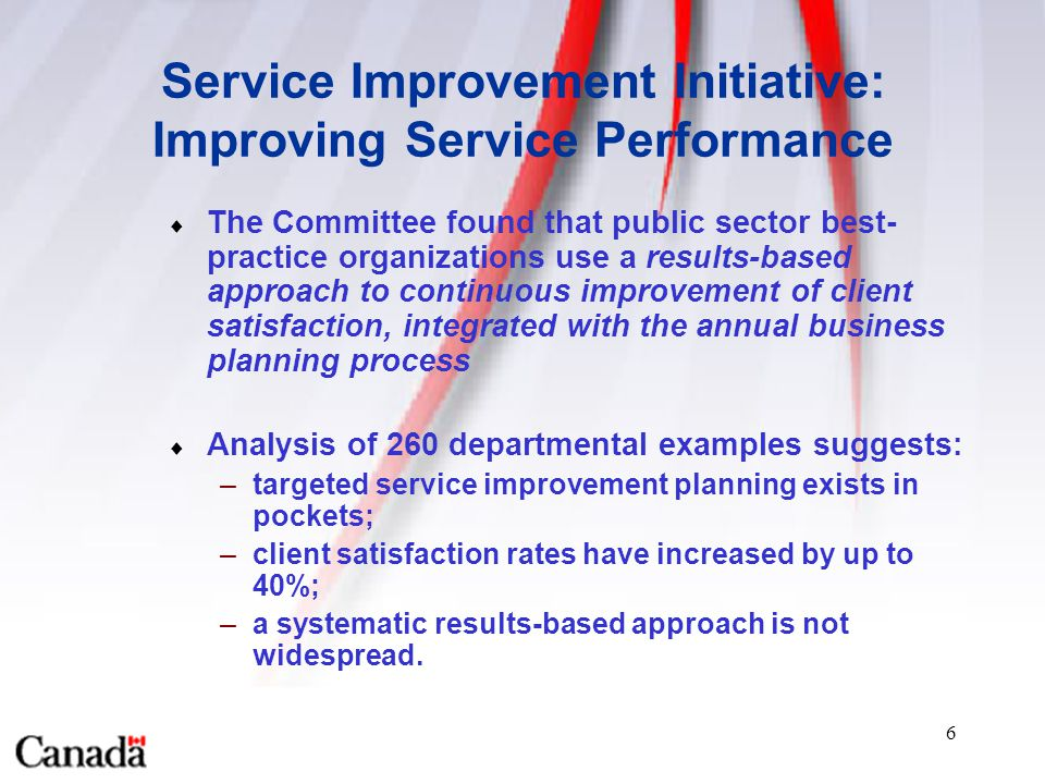 Achieving continuous improvement in client satisfaction for Continuous service improvement plan template