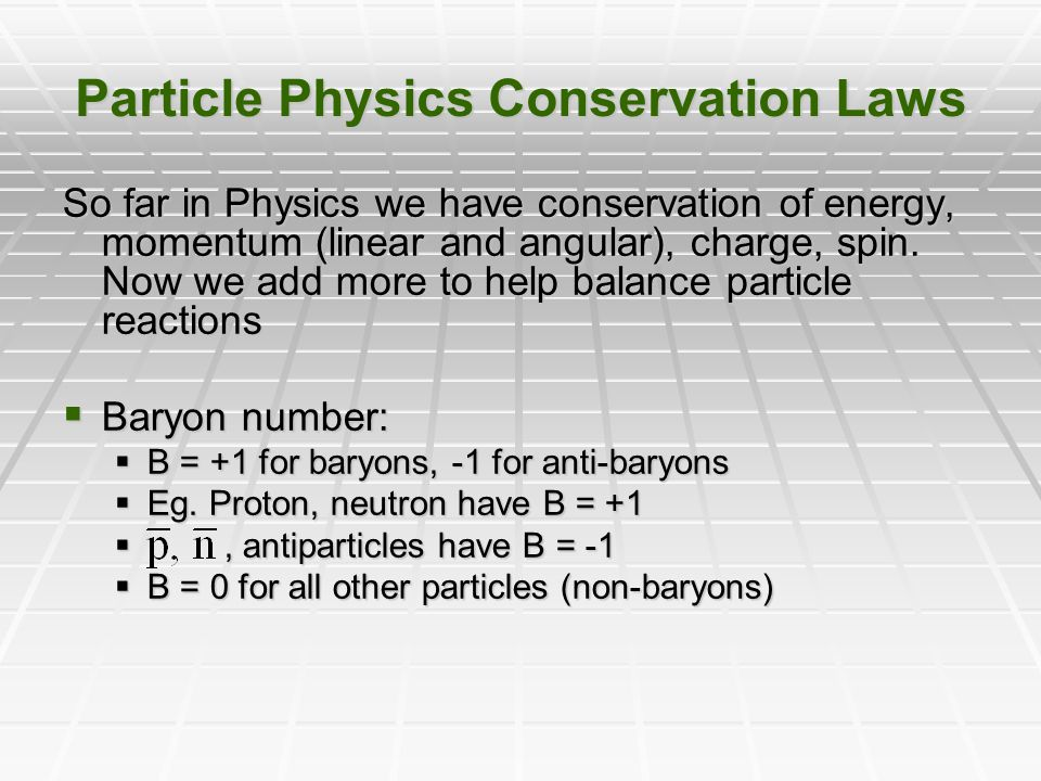 conservation laws in physics pdf