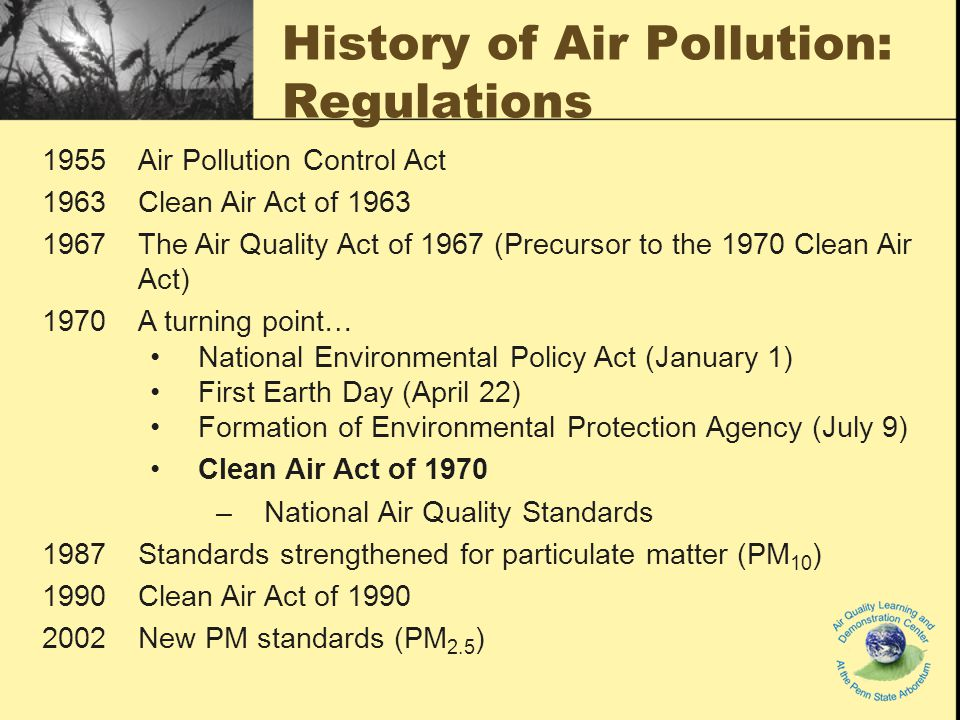 an introduction to the environmental protection agency and the air pollution Us environmental protection agency pollution/situation report silvertip pipeline spill united states environmental protection agency  epa is conducting air.