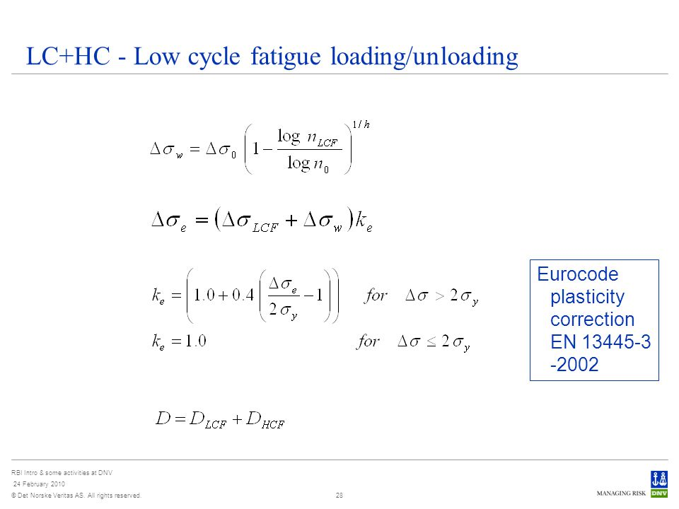 low cycle fatigue thesis The low cycle fatigue capacity of the material in the present  hcf = high cycle  fatigue  dring thesis, the norwegian institute of technology, trondheim 17.