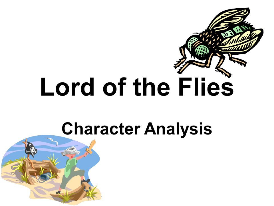 Thesis statement for lord of the flies simon