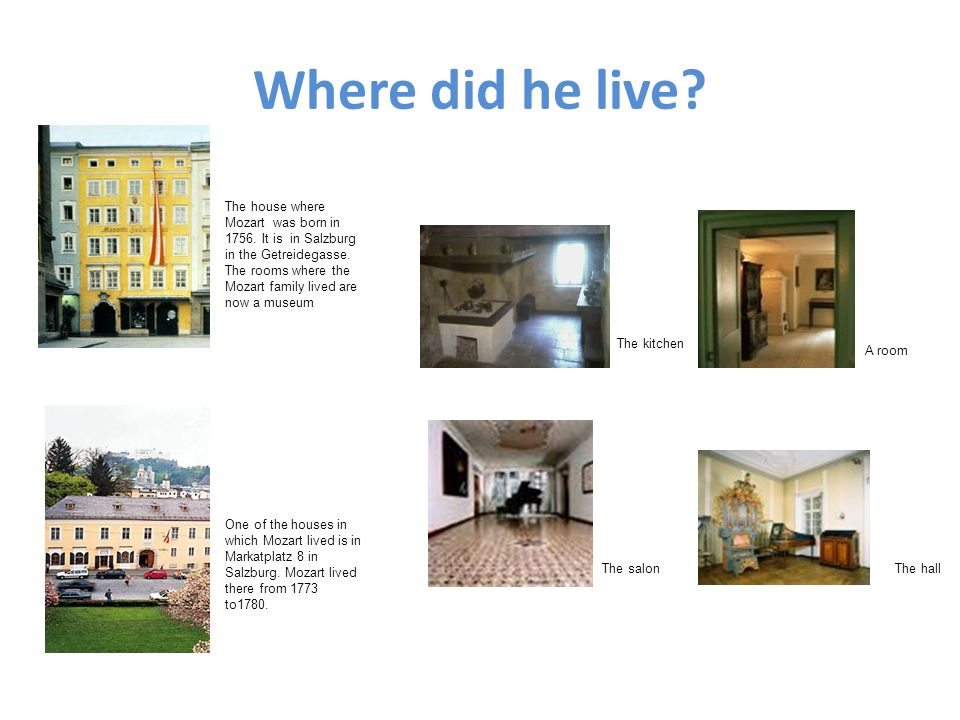 Where did he live