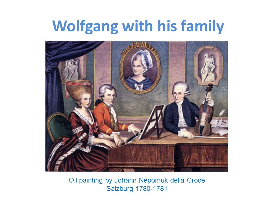 Wolfgang with his family