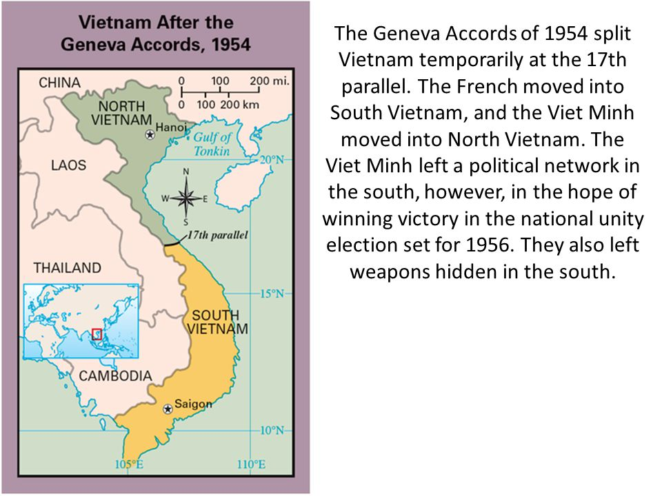 an analysis of the us involvement in vietnam and the geneva accord of 1954 What conclusions about the vietnam wars can you draw from this analysis 1954 geneva accord and 1973 paris peace agreement the paris peace agreement was to end us involvement in vietnam and release the thousands of pows in north vietnam.