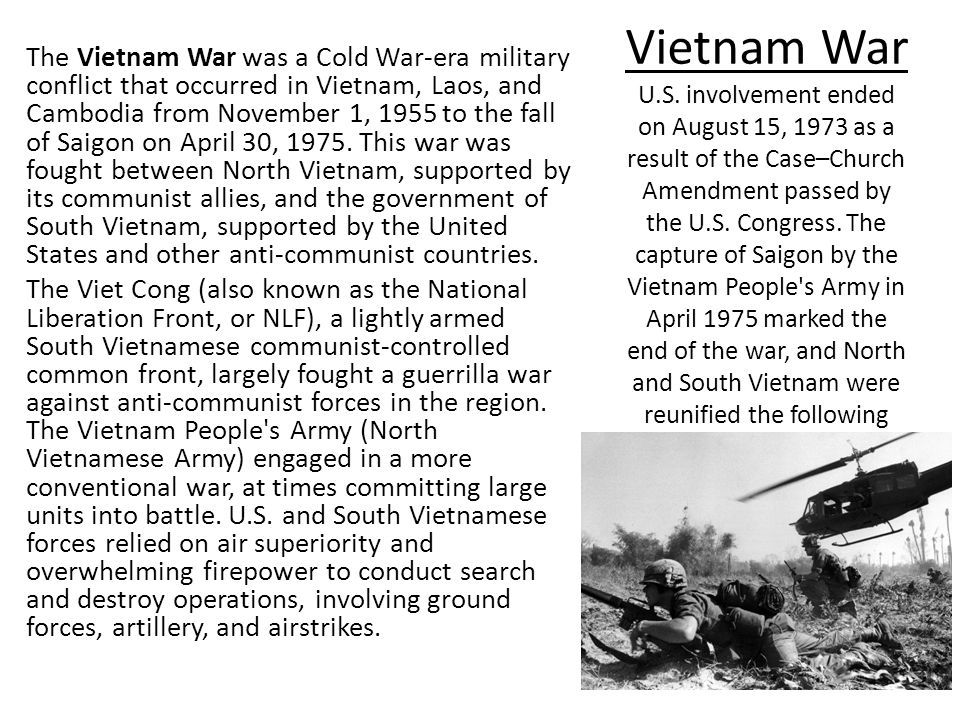 the unique war between vietnam and united states The united states and vietnam are committed to strengthen defense cooperation between the two countries as outlined in the memorandum of understanding on advancing bilateral defense cooperation in 2011 and the us-vietnam joint vision statement on defense relations signed in 2015, giving priority to humanitarian cooperation, war legacy issues.