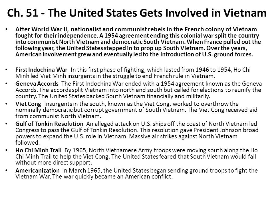an analysis of the us involvement in vietnam and the geneva accord of 1954 Read cnn's vietnam war fast facts and learn more about the conflict between  communist-led north vietnam and us-supported south vietnam  13 million -  total military deaths for all countries involved  july 21, 1954 - vietnam signs the  geneva accords and divides into two countries at the 17th.