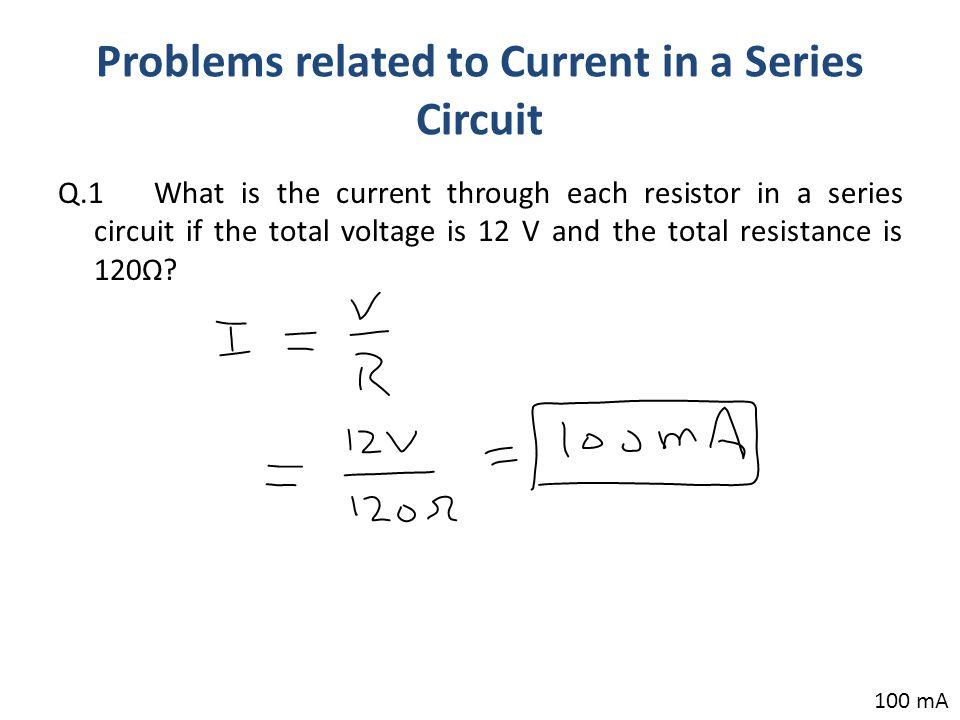 series lcr circuit graph