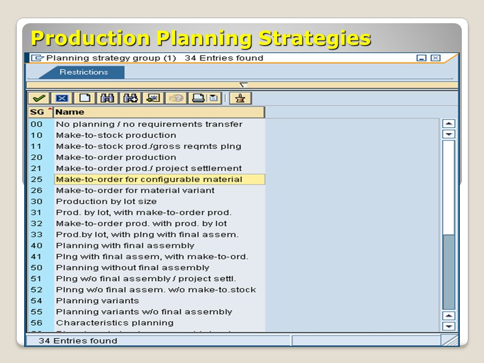 Production Planning Processes Theories & Concepts - ppt download