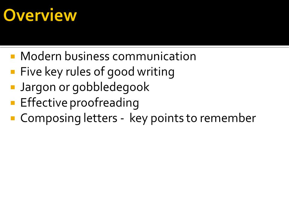 business communication 5 essay Getting started (printable version here)make it concise and condensed business communications allows students to explore a vast stretch of unchartered territory that may seem a bit intimidating at first.