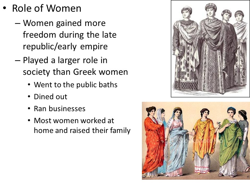 a history of the role of women in the early society Traditional role of women in china history early in history, men dominated the chinese society while women were deprived of all rights and were present mainly to serve men, they had to subordinate to their fathers, husbands, brothers and sons.