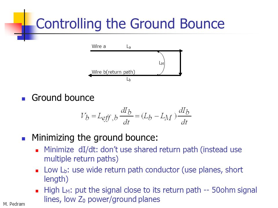 Controlling+the+Ground+Bounce chapter 3 noise sources ppt download Bounce of Golf Clubs Explained at bayanpartner.co