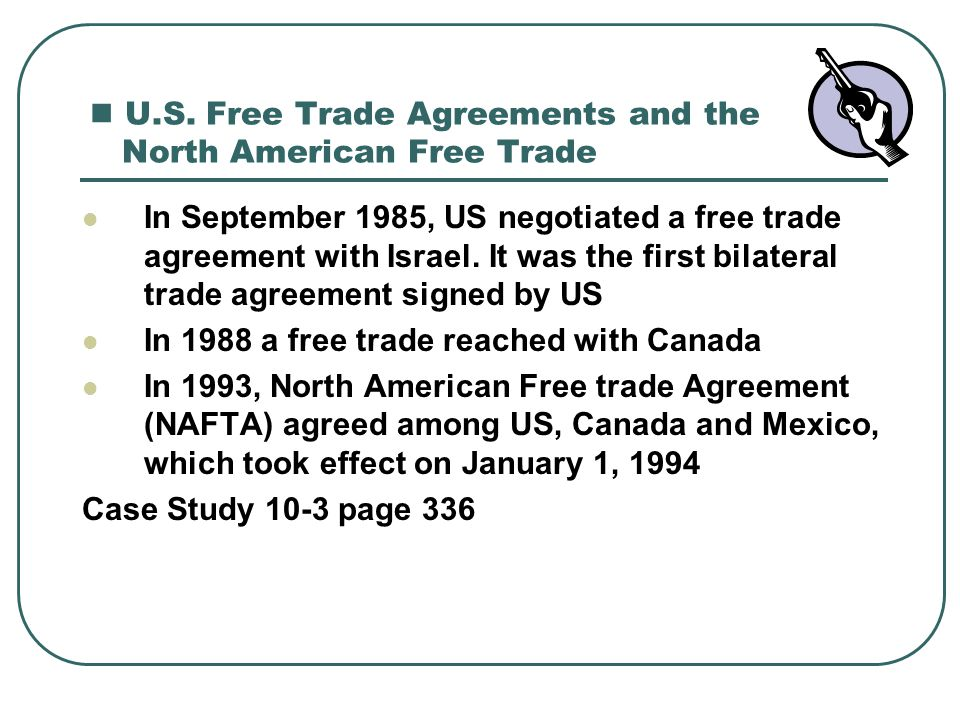 An Analysis Of The Effects Of The North American Free Trade Agreement